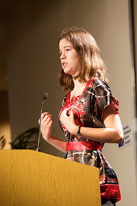National Student Poet Luisa Banchoff