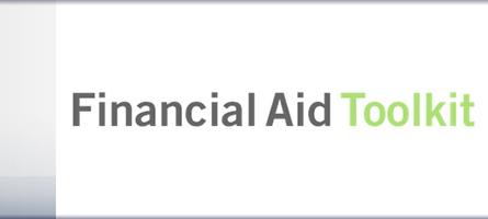link to blog post about financial aid toolkit