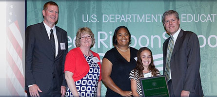Link to Honoring Green Ribbon Schools and Sustainable Districts blog post