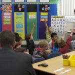 Secretary Arne Duncan and Rep. Duncan Hunter visit Shoal Creek Elementary School