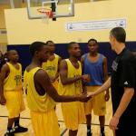 Secretary Duncan greets Madison High School Jaguars