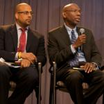 Geoffrey Canada, CEO of the Harlem Children's Zone, talk about Promise Neighborh