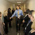 Secretary Arne Duncan honored the nation's 314 Blue Ribbon Schools for 2010 at a