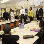 Secretary Arne Duncan visited Jacksonville, where he joined U.S. Rep. Corrine Br