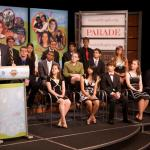 Secretary Arne Duncan honored 15 outstanding high school students who have made an impact in communities across the world during Parade's All-America High School Service Team Celebration.