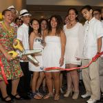 The Island of Puerto Rico: Music, Color and Flavor ribbon cutting.