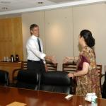 Secretary Duncan and Indian Ambassador Meera Shankar
