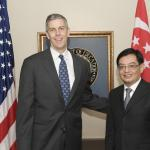 Secretary Arne Duncan and Singaporean Minister for Education Heng Swee Keat