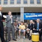 ED officials hosted a music celebration event with advocates and students.
