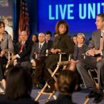 Secretary Arne Duncan at United Way Worldwide's National Education Town Hall.