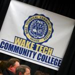 Secretary Duncan participates in a town hall with with students at Wake Tech Community College.