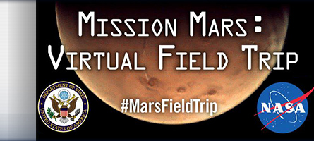 Link Mars Virtual Field Trip site
